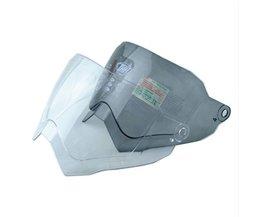 THH vizier lens geschikt TX27 helmen motorhelm shield vizier met clear en black