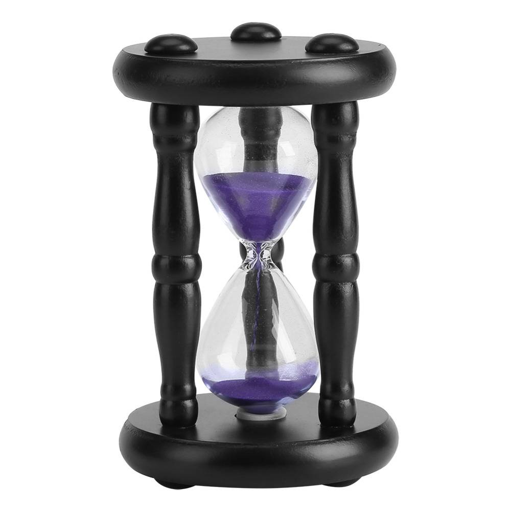 15 Minuut Zand Zandloper Countdown Timing Moderne Houten Zandloper Zand Klok Timer Woondecoratie Amp