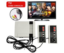 GONOKER Retro TV Handheld Game Console Video Game Console Mini Games Speler Ingebouwde 620 Games PAL & NTSC Dual Gamepad