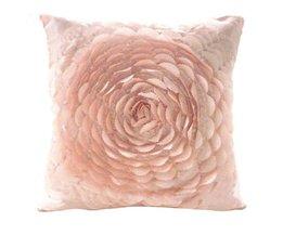43x43 cm 3D Rose Cover Kussensloop Decoratieve Nieuwigheid CreativeVoor Vriendin Verjaardag