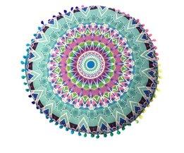 verschillende soort Indian Mandala Floor Kussens Ronde Bohemian Kussen Kussens Kussens Cover Case # XT
