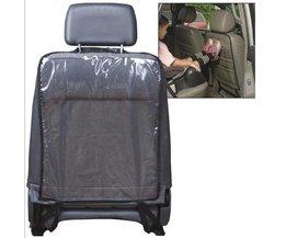Transparante Autostoel Back Protector stofdicht Kinderen Kick Mat Beschermt tegen Modder Dirt waterdichte Auto-cover auto stoelhoezen