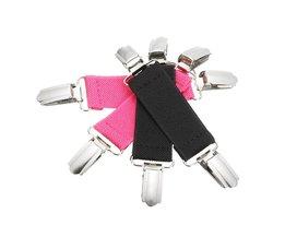 1 Stks Metalen Jurk Cinch Broek Clip Kledingstuk Cincher Tailleband Extender Kleding Accessoire Multifunctionele voor Vast Laken Sofa