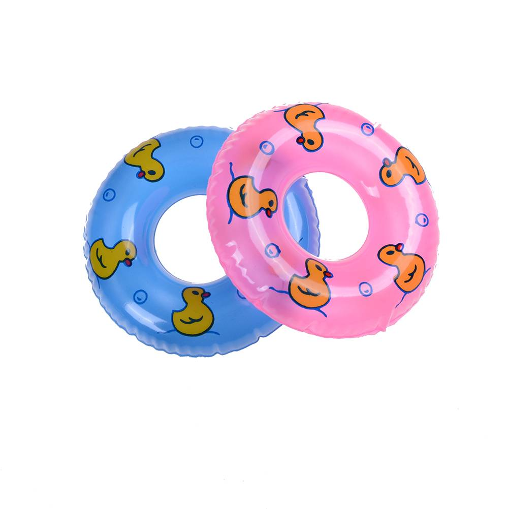 1 Stks Mini Zwemmen Boei Lifebelt Ring Voor Barbie Pop Accessoires Voor speelgoed poppen, Baby Speel