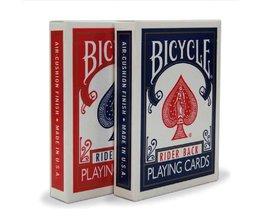 Originele Fiets Poker 1 DEK prijs Rood of Blauw Fiets Regelmatig Speelkaarten Rider Back 808 & Standaard Verzegelde Decks Magic Card