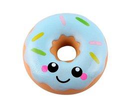 11 cm Mooie Doughnut Crème Geurende Squishy Trage Stijgende Squeeze anti stress zacht speelgoed funny gadgets kawaii squishies oyuncak #111