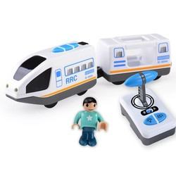MyXL Afstandsbediening RRC Trein Set Locomotief Telecontrol Hogesnelheidstrein voor Houten Spoorlijn Speelgoed