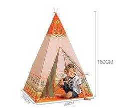 2 StijlNatuurlijke Indiase Patroon Kinderen Speelgoed Tent Teepees Veiligheid tipi Draagbare Speelhuisje voor Kinderen Indoor Game Outdoor