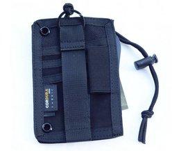 ROCOTACTICAL Tactische Hals Badge ID Creditcard Pen Pouch Houder Combat Leger Sport Ketting Badge Houder met Keycord