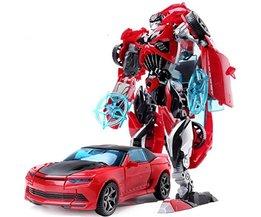 19 cm Hoogte Transformatie Vervorming Robot Speelgoed Actiefiguren Speelgoed met originele doos JJ616C