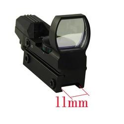 MyXL Optics Riflescopes Jacht Tactische Holografische Scope 11mm Of 20mm Rood/Groen Dot Sight Glas Gericht Waterdicht Anti-shock Zoeken
