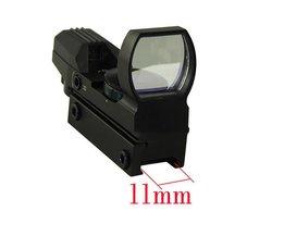 Optics Riflescopes Jacht Tactische Holografische Scope 11mm Of 20mm Rood/Groen Dot Sight Glas Gericht Waterdicht Anti-shock Zoeken