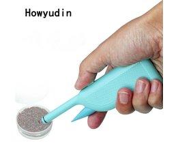 Howyudin Rode worm aas toolABS karpervissen accessoires Handig Snelle gebundeld tool pesca acesorios