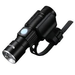 MyXL WEST BIKING Fiets Licht Ultra-Heldere Stretch Zoom CREE Q5 200 m Fiets Voor LED Zaklamp Lamp USB Oplaadbare fietsen Licht