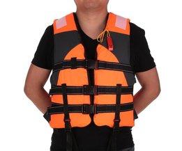 Lixada Vissen Vest Outdoor Unisex Volwassen Zwemvest Vissen Veiligheid Zwemvest Drifting Varen Zeilen Kajak Survival Badmode