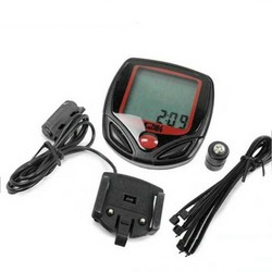 MyXL Digitale Fiets LCD Fietsen Computer Kilometerstand Snelheidsmeter Stopwatch BU