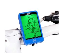 Waterdichte 576C Mountainbike Fiets Computer Draadloze Stopwatch LCD Backlight multifunctionele Snelheidsmeter Kilometerteller Stopwatch