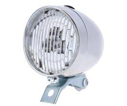 Retro Fiets Front Light Koplamp 3 LED Vintage Zaklamp Lamp Fietsverlichting
