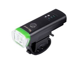 WEST FIETSEN Fietsen Intelligente Licht Gevoelige Licht USB Oplaadbare Waterdichte Front Lampen Stuur Zaklamp Fietslicht