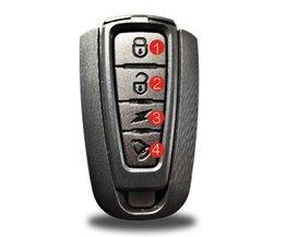 EYCI 4 in 1 Draadloze Afstandsbediening Bike Lock Alarm Warner Achterlicht anti-diefstal Alerter Fietsslot