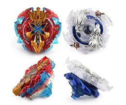 Vinger Gyro Metalen Plastic Fusion 4D Spinning Snelheid Beyblades Spin Top Toy Set, Bey Blade Spinner met Launcher kinderen Speelgoed