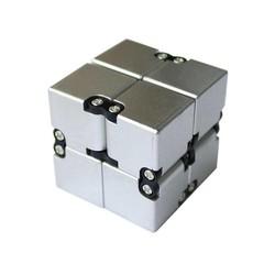 MyXL ABS + Metal Infinity Cube Fidget Speelgoed Vervorming Magical Infinity Fidget Cube Stress Reliever Antistress Cube voor EDC Angst