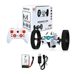 MyXL RC Auto Bounce Auto Afstandsbediening Speelgoed Springen Cars Hoge Snelheid schakelaar Flexibele Stunt Auto PEG RH803 met Led-verlichting Kids Xmas