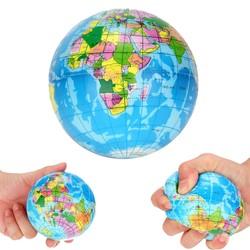 MyXL MUQGEW 2018CollectieStress Wereldkaart Schuim Bal Atlas Globe Palm Bal Planeet Aarde Bal voor meer dan 6 jaar
