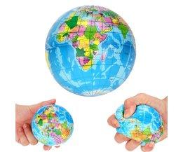 MUQGEW 2018CollectieStress Wereldkaart Schuim Bal Atlas Globe Palm Bal Planeet Aarde Bal voor meer dan 6 jaar