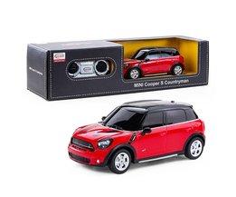 Meisjes Speelgoed Afstandsbediening Auto Elektrische RC Auto 1:24 Radio Controlled Speelgoed Jongens Cadeaus Speelgoed Mini Cooper S Countryman 71700