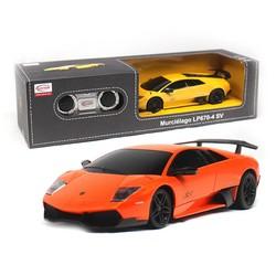MyXL Licensed 1:24 Afstandsbediening Auto Radio Control Speelgoed RC Auto Speelgoed Voor Kinderen Jongens MeisjesMurcielago LP670-4 SV 39000