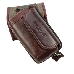 MyXL Mode Mannen Lederen Vintage Mobiele/Mobiele Telefoon Geval skin Hip Belt Bum Purse Fanny Pack Taille Bag Pouch