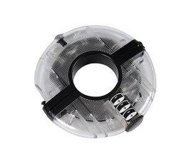 Easy Installeren Anti-shock Waterdichte Fietsverlichting Fiets Hubs Front Staart Led Spoke Wheel Waarschuwingslichten