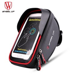 MyXL WIEL UP Waterdichte Sport MTB Racefiets Voor Tas 6.0 inch Touchscreen Bike Cellphone Bag Fiets Top Tube Pannier Fietsen Pouch