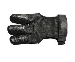 Mediterrane Stijl Boogschieten Vinger Guard Vinger Handschoen Lederen Vinger Tab Protector Hand Jacht Boogschieten SlingsAccessoires
