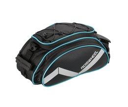 ROSWHEEL FIETSTAS Multifunctionele 13L Bike Staart Achter Seat Bag Fiets Mand Rack Trunk Bag Schouder Handtas