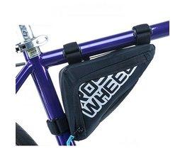 ROSWHEEL Fiets Frame Driehoek Tas Opslag Pouch Tassen Fietsen MTB Racefiets Buis Hoek Pannier Blauw/Oranje Bycicle 121274