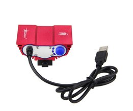 Fietsen Led-verlichting USB 10000LM LED Fiets Koplampen 3XT6 XM-L LED Fiets Licht met Batterij + Lader