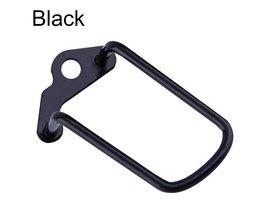 1 Stks Verstelbare Stalen Fiets Mountainbike Gear Achter Derailleur Chain Stay Guard Protector Outdoor Fietsen Accessoires