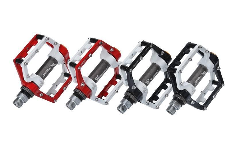 "WEST FIETSEN Fietsen Pedalen Fixed Gear MTB BMX Fiets Pedalen 9/16 ""Voetsteunen Buitensporten DHCrank MTB Racefiets Fietsen Pedalen"