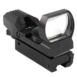 MyXL Reflex Airsoft Green Red Dot Sight 11mm Rail Mount 20mm 22mm Mount Jacht Richtkijker voor Luchtbuks Optische Scope HT5-0009