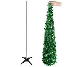 OurWarm Kerstboomversiering Kunstmatige Kerstbomen Pop Up 2018 Nieuwjaar Decor voor Thuis gemakkelijk Winkel en Pull Up