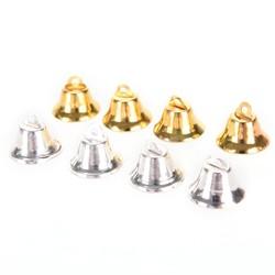 MyXL 10 Stks Metal Bells Kleine Bel Sieraden Ornamenten Kerstversiering Hangers DIY kerstboom klokken