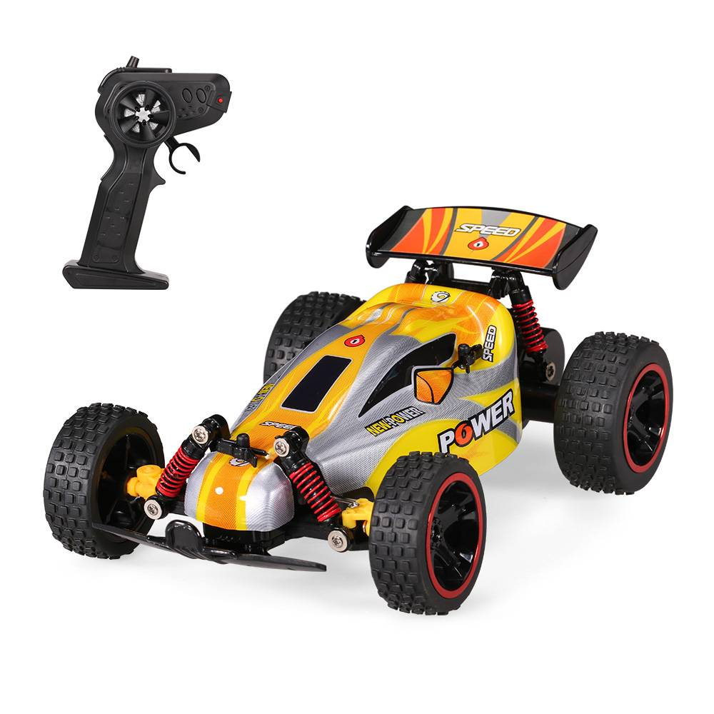 RUI CHUANG QY1801B 1-18 2.4G 2CH 2WD Elektrische Off-road Buggy Cross-country Racing RC Auto