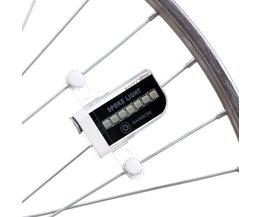 Deemount 14 RGB Kleurrijke LEDs Fiets Accessoires Bycicle Band Licht Mtb Mountainbike LED Wheel Spoke Light 30 Patronen