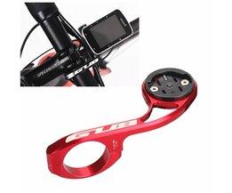 GUB 669 MTB Racefiets Computer Camera Houder Stuur Extension Bike Computer Camera Mount Voor GARMIN CATEYE GoPro Gebruikt