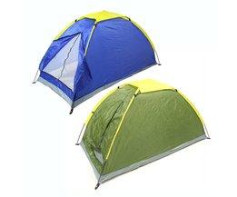 Waterdichte Twee Persoon Tent Outdoor Camping Tent Strand Tent Kit Enkele Laag Vissen Tent met Draagtas voor Wandelen Reizen