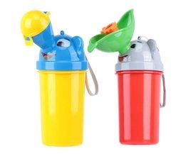 WC Draagbare Urinoir voor Jongen en Meisje Reizen Auto Wc Pissoir Mooie Cartoon Baby Urinoir lekvrije Convinient