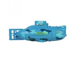 RC Boten 3311 Zee Wing Star 27 MHz Radio Control Submarine Toerisme Boot Speelgoed Jongens Geschenken Geel Blauw