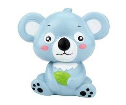 12 cm Leuke Cartoon Kawaii Koala Scented Squishy Speelgoed trage Stijgende Squeeze Speelgoed Leuke Dier Stress Speelgoed Voor Kids